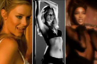 There's nothing like hiring a drop-dead-gorgeous model to spice up your music video! Aussie singer Shannon Noll did just that with ex-Miss Universe Australia Renae Ayris stripping to lingerie for his new video 'We Only Live Once'.<br/><br/>So, TheFIX honours the tradition of sexy model cameos in music videos in this slideshow. Who's your fave of all time? Watch and decide!<br/><br/>Author: Adam Bub. Approved by Amy Nelmes.