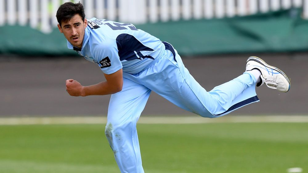 Starc improves from poor one-day cup start