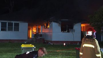 Sadleir house fire