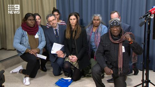 The family of an Aboriginal teenager violently arrested by police have shown solidarity with the family of George Floyd.