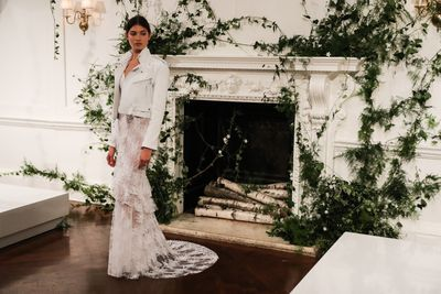 Monique Lhullier Bridal Fall 2018.<br /> <div>&nbsp;</div>