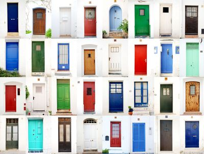 <strong>Paint your front door</strong>