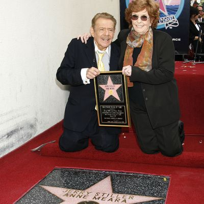 Jerry Stiller and Anne Meara: 2007