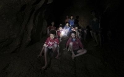 <strong>Thai cave rescue, July 2<br> </strong> <strong></strong>