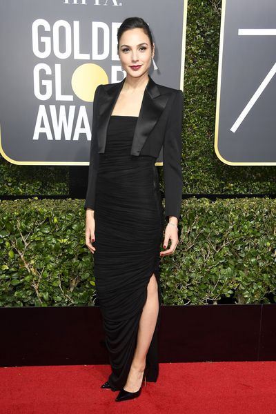 <em>Wonder Woman</em> star Gal Gadot in Tom Ford and Tiffany & Co. jewels