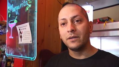 Restaurant owner Oniel Ortiz had been trying to track down his customer