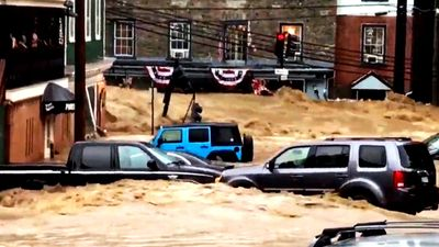 Flash flooding triggers 'extreme danger' warning in Maryland