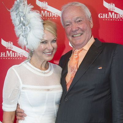 <p>Kerri-Anne Kennerley and John Kennerley</p> <p>Married for 35 years.</p>