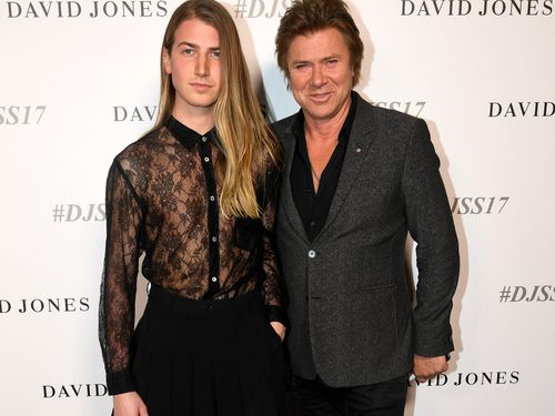 Christian and Richard Wilkins. (AAP)
