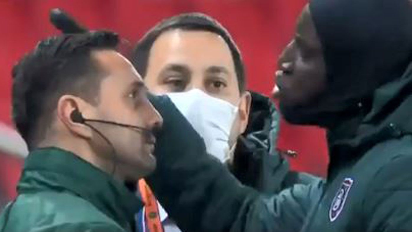 PSG and Basaksehir players walk off field in UCL game over alleged racist remark