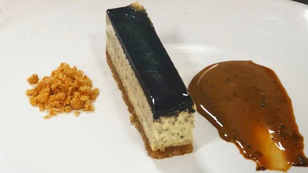 Truffle cheesecake