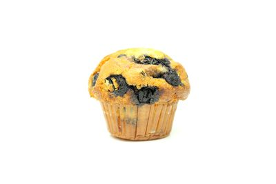 100g blueberry muffin: 1390kj/332 calories