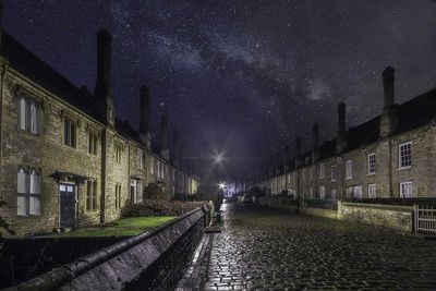 Vicars' Close in Wells, England