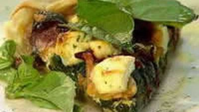 "Recipe:&nbsp;<a href=""http://kitchen.nine.com.au/2016/05/18/13/49/spinach-and-fetta-pie"" target=""_top"">Spinach And Fetta Pie</a>"