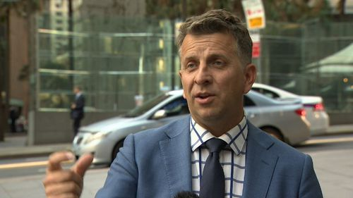 """Transport Minister Andrew Constance says """"there's going to be a lot of new development getting extra value because of the infrastructure going in""""."""