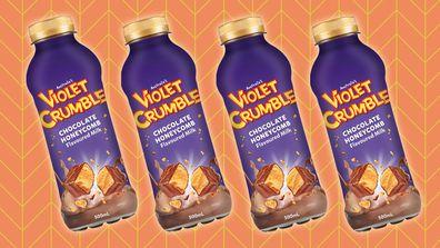 Violet Crumble Milk