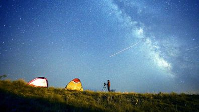 October is set to deliver three meteor showers.