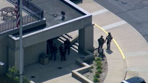 Inmate and two officers dead after shooting at Michigan courthouse