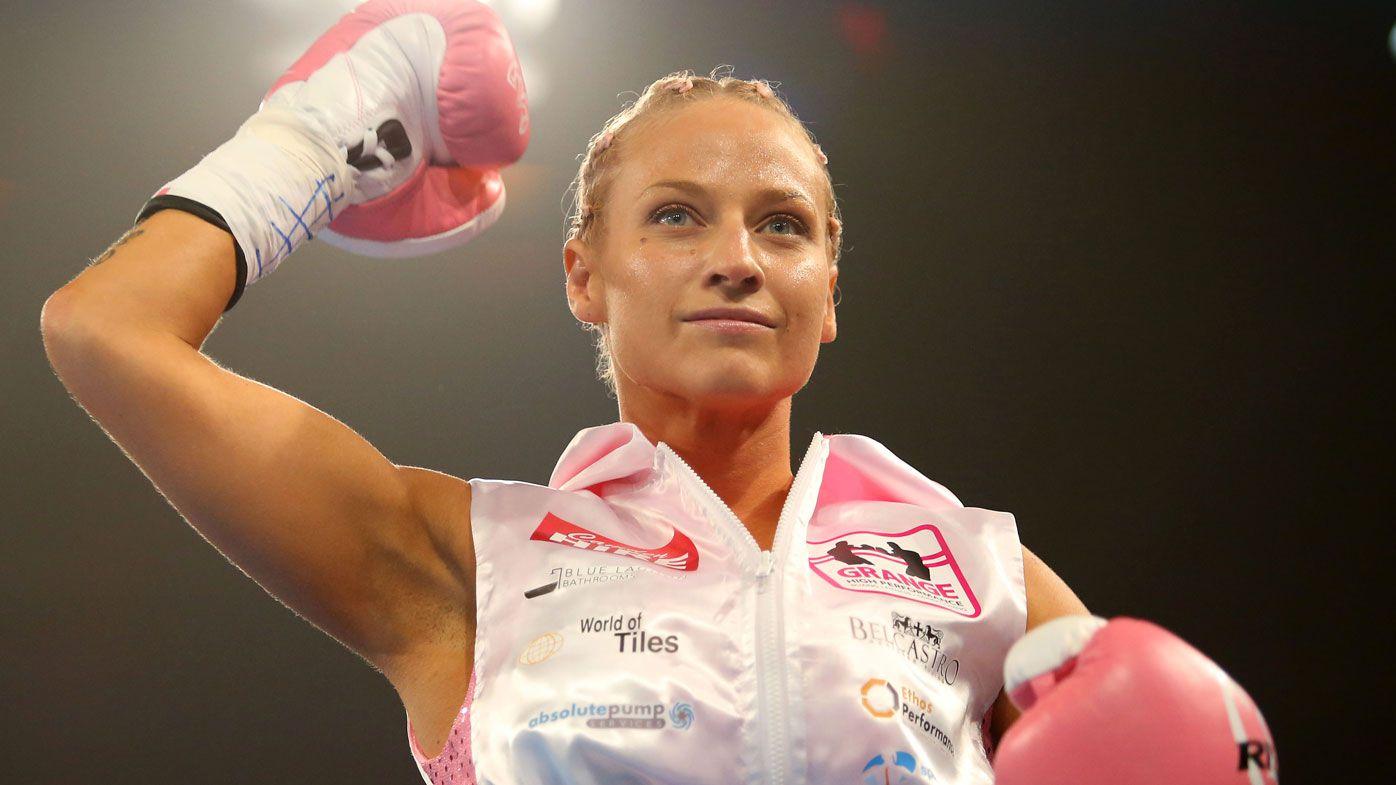 Aussie boxer Ebanie Bridges accused of 'disrespecting' the sport during weigh-in