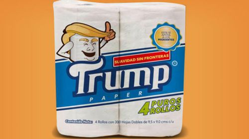 Mexican company to manufacture 'Trump' toilet paper