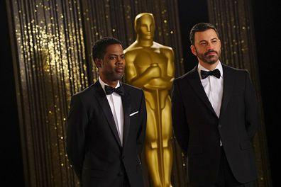 Chris Rock and Jimmy Kimmel
