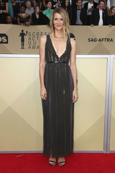 Actress Laura Dern at the 2018 SAG Awards