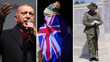 Turkey Australia Gallipoli ANZAC Day travel concerns safety Erdogan Christchurch comments