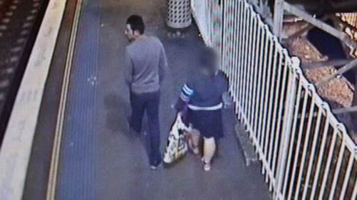 The pair got off at Yennora Station before the young woman was sexually assaulted. (NSW Police)