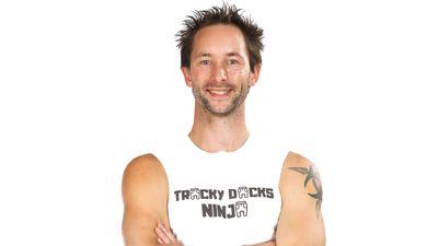 Michael Mischefski as seen on Australian Ninja Warrior 2020.