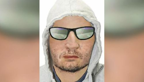 Police are searching for this man in relation to the smash-and-grab theft at Kilkenny. (9NEWS)