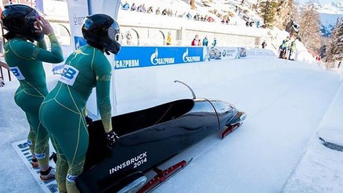 Despite travelling around the world to compete and qualify, Sliding Sports Australia said it has a higher standard for its Olympic bobsleigh teams that the athletes did not meet (Supplied).