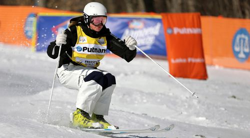 Britt Cox is Australia's best chance for gold at the 2018 Games. (AAP)