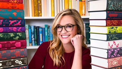 Image result for reese witherspoon reading