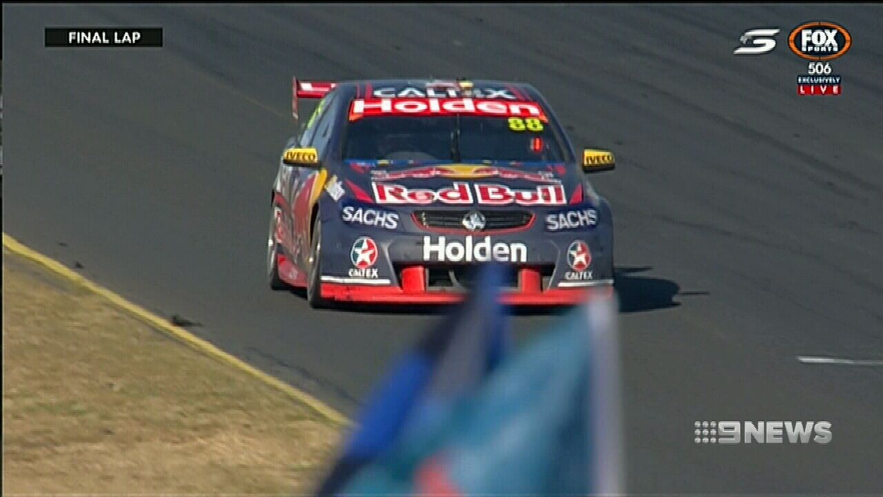 Whincup becomes Supercars' most prolific winner