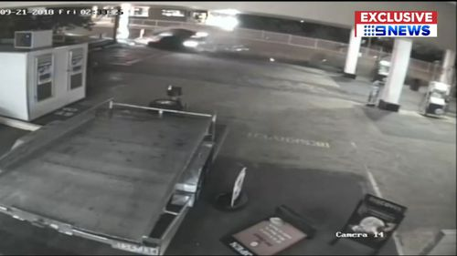 The Charlestown crash was caught on CCTV.