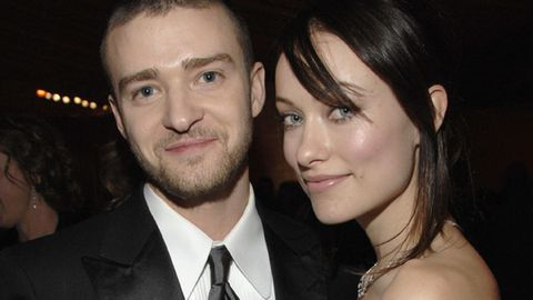 Justin Timberlake and Olivia Wilde in 2007