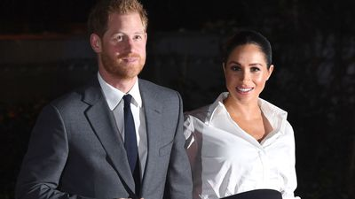 Prince Harry and Meghan Markle at the Endeavour Fund Awards, January 2019