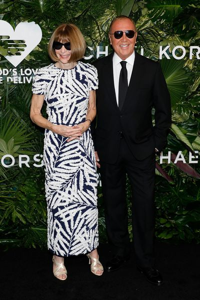 Anna Wintour and Michael Kors at the Annual God's Love We Deliver Golden Heart Awards in New York City