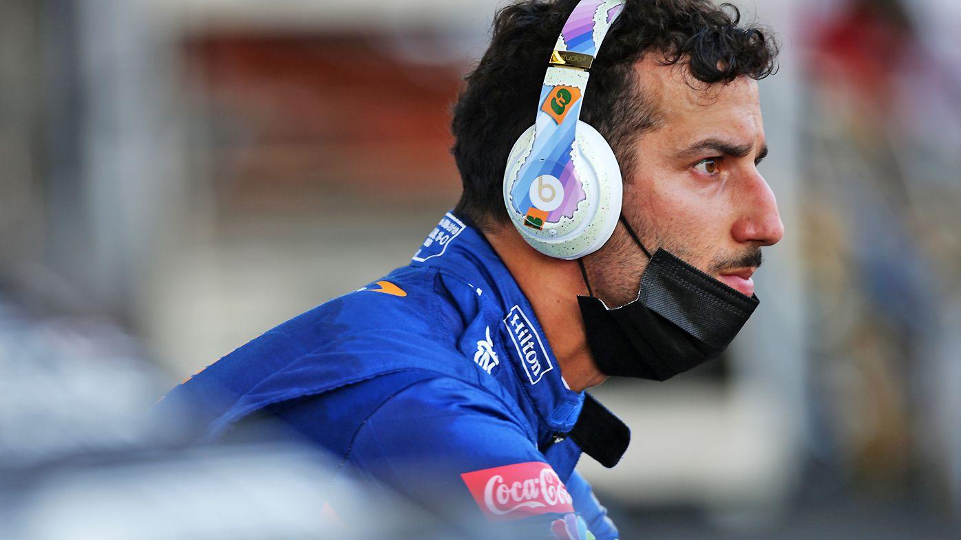 Daniel Ricciardo of Australia and McLaren F1