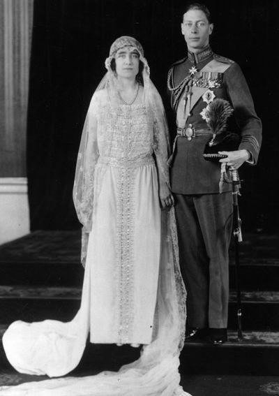 Queen Elizabeth, married 1923