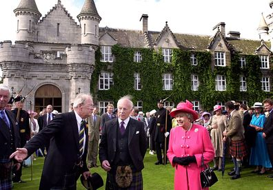 The Queen and the royals travel to Balmoral Castle in Scotland every summer.