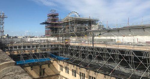 Renovation works are already underway. Picture: Gabrielle Adams