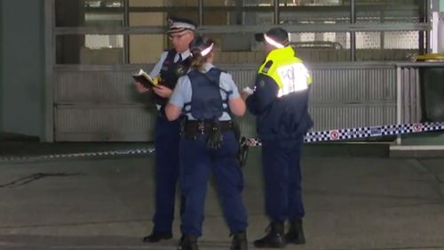 Authorities found the man on the ground at the inner city high-rise. (9NEWS)