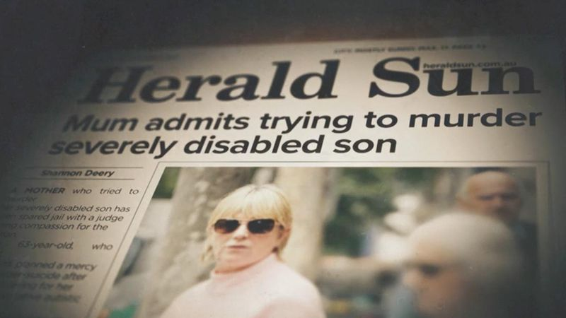 """After spending more than three decades caring for her autistic and epileptic son, in May last year that Yvette Nichol finally """"reached breaking point"""" and attempted to end his life. (60 Minutes)"""