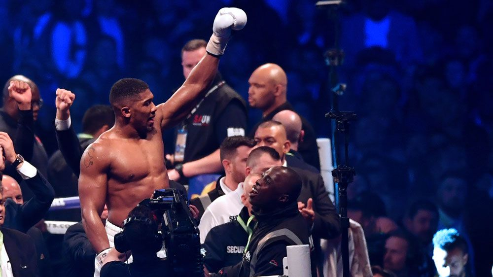 Anthony Joshua KO's Klitschko with 11th round stoppage