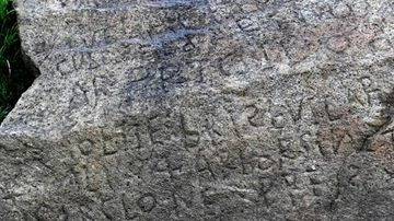 Experts have no idea what these inscriptions could mean.