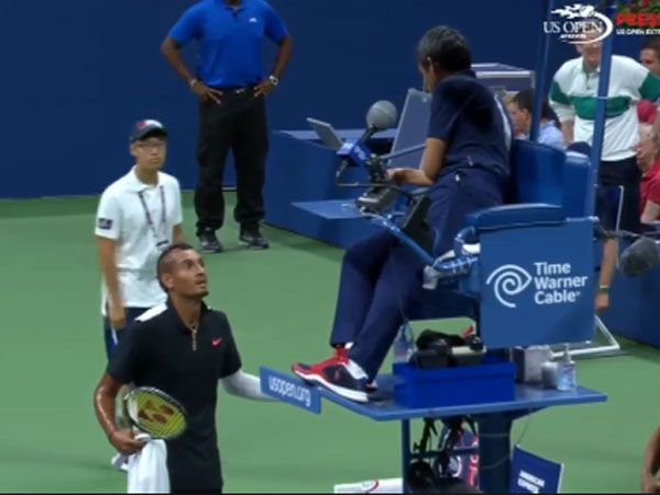 Kyrgios delivers beauty and the beast show at US Open
