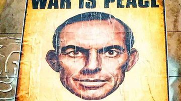The Tony Abbott 1984 poster.