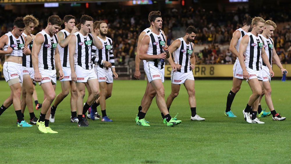 Will Hoskin-Elliott's shocker sums up Collingwood Magpies' unhappy start to 2017 AFL  season