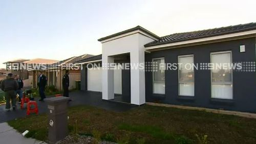 Police seized control of the home, which was found to have no one living in it. (9NEWS)